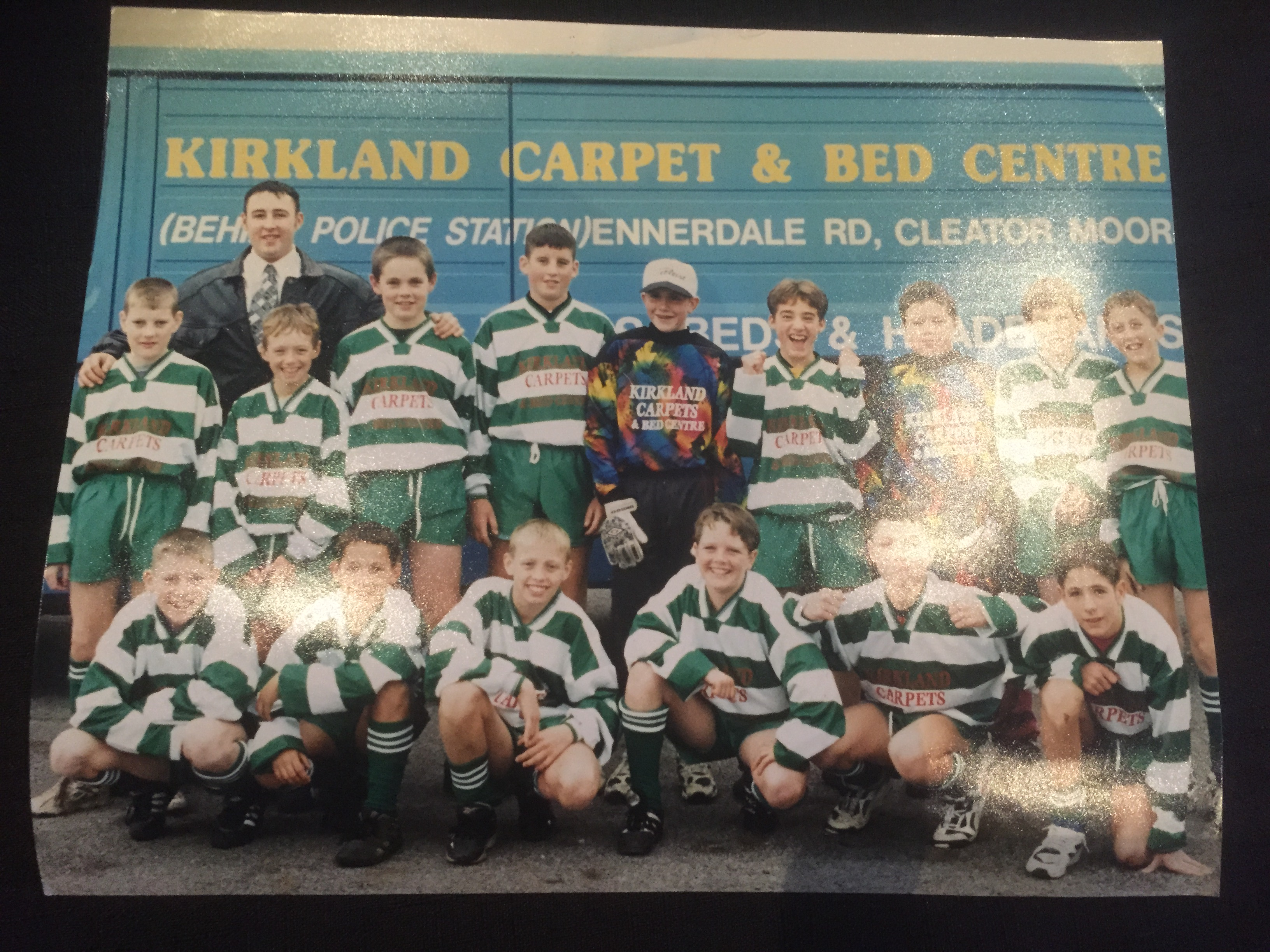 Sponsors of Cleator Moor Celtic Football Team of old